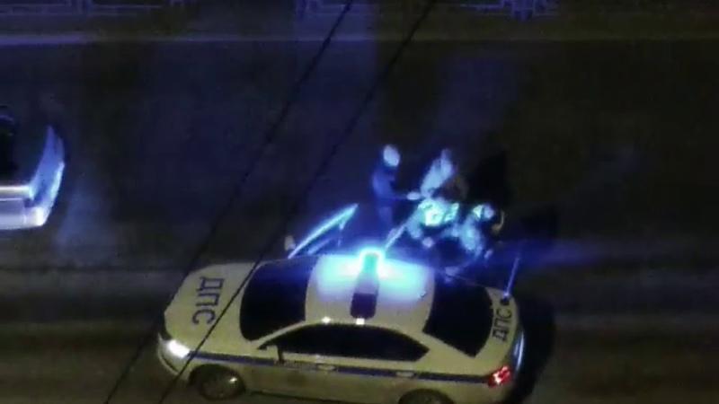 Ночью в Ачинске задержали пьяного и буйного водителя