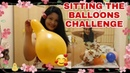 ASMR Blow to pop | BLOW AND POPPING SITTING the balloons|part 2