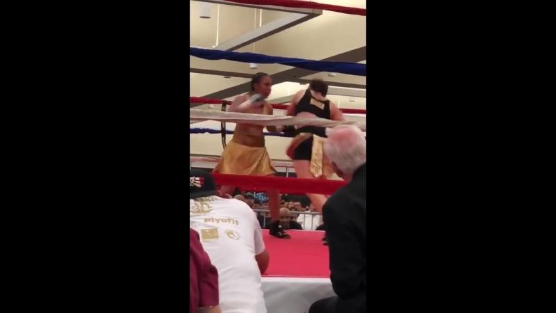 Селина Барриос vs Аида Сатыбалдинова нокаут