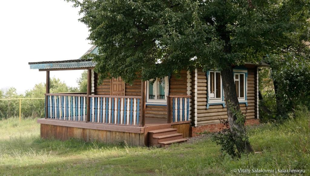 Татарский дом в национальной деревне, Саратов 2020