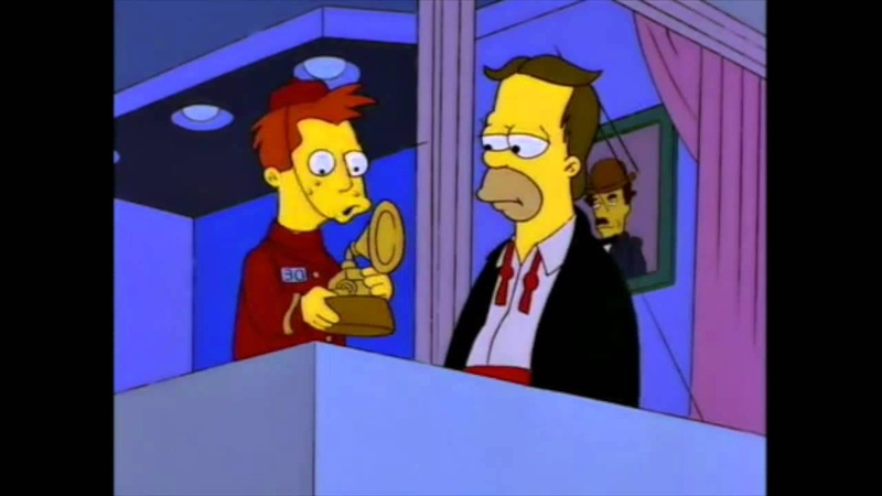 The Simpsons Aww It s a Grammy