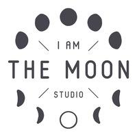 Логотип  I am the MOON studio