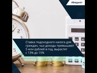 Правительство внесло в Госдуму закон о прогрессивной шкале НДФЛ