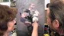 Букет белых роз.Игорь Сахаров