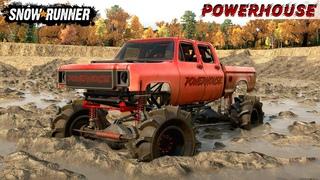 SnowRunner - MONSTER TRUCK Driving Through The Swamp