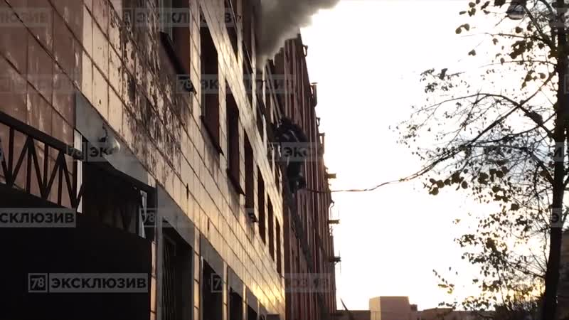 Пожар на Большом Сампсониевском
