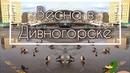 Перевернутый мир в весенних лужах | Весна в Дивногорске |