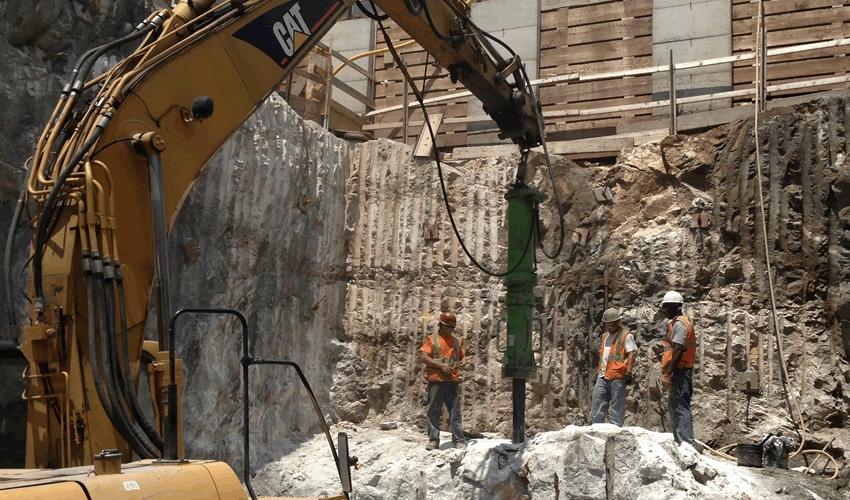 Сверхмощный гидроклин Yamamoto для демонтажа зданий, тоннельных и горных работ