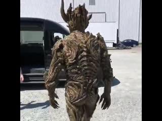 O Ator de Monstro do Pntano Kevin Durand como Floronic Man. - - Muita pena desta srie ter sido cancelada.. - - SwampThing -