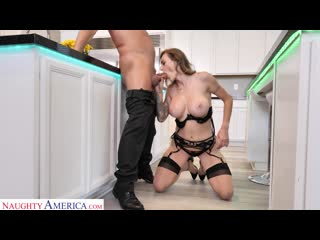 Natasha Starr так возбудилась что трахнула соседа на кухне[Athletic Body, Ball licking,Big Tits, Blow Job Секс Порно Анал 18+]