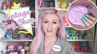 Buying Vintage Polly Pockets! 80's/90's Toy Shop (ASMR soft spoken role-play + toy sounds)