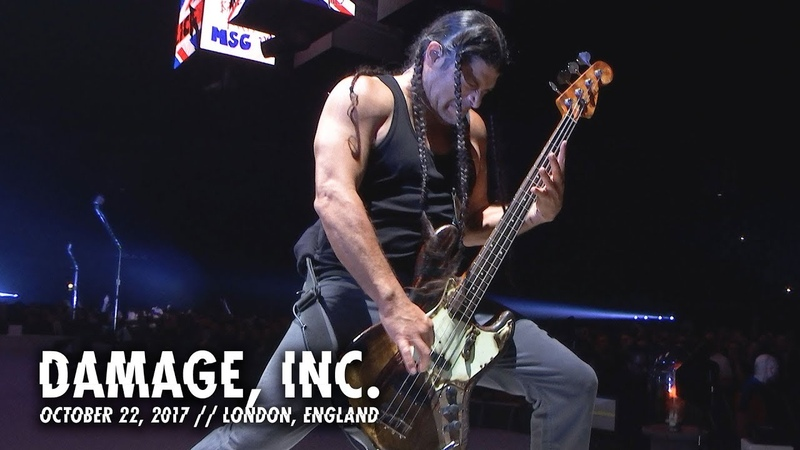 Metallica Damage Inc London England October 22 2017
