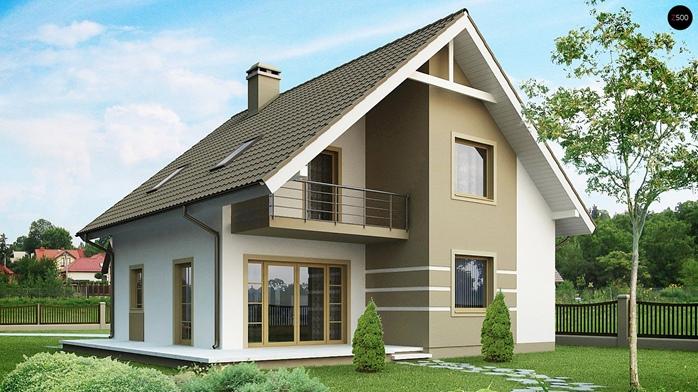 Особенности мансардных домов и их преимущества