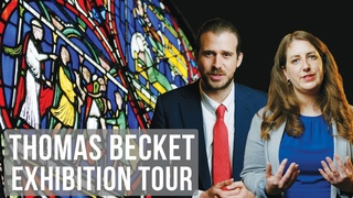 Tour of Thomas Becket: murder and the making of a saint exhibition | #BritishMuseumTours