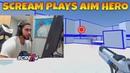 ScreaM plays Aim Hero (CS:GO AIM training)