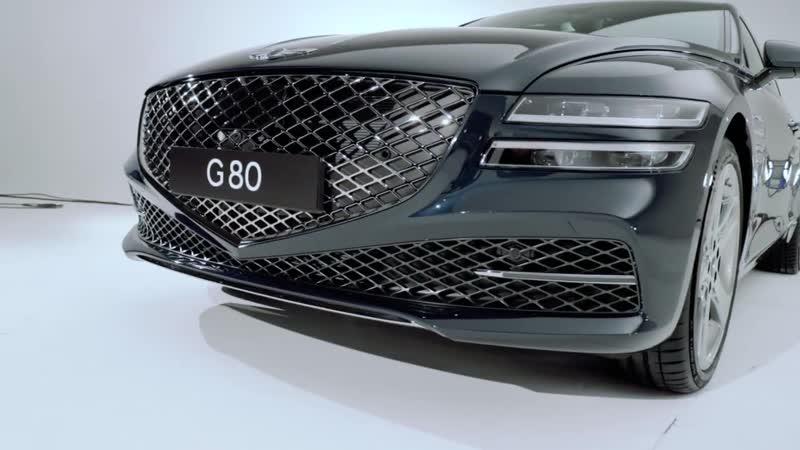 Очень крутой седан Генезис Обзор Genesis G80