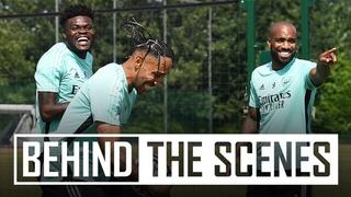 Pre-season vibes! | Balogun looking sharp | Behind the scenes at Arsenal training centre