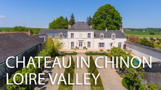 SOLD - Stunning manor in the heart of the Loire Valley vineyards - ref : 92829CFI37