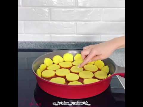 Ханум на сковородке . ВКУСНЯТИНА - жми на название видео и смотри рецепт.