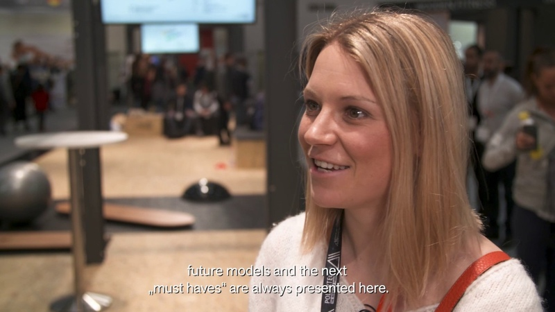 ISPO Munich 2019 Miriam Neureuther feeling sporty at ISPO Munich