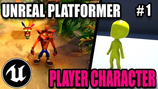 Importing Character & Animations - Creating a 3D Platformer In Unreal Engine #1