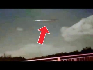 Huge cigar shaped UFO spotted in the sky over Australia