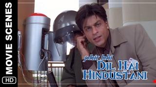 Bomb | Phir Bhi Dil Hai Hindustani | Movie Scene | Shah Rukh Khan
