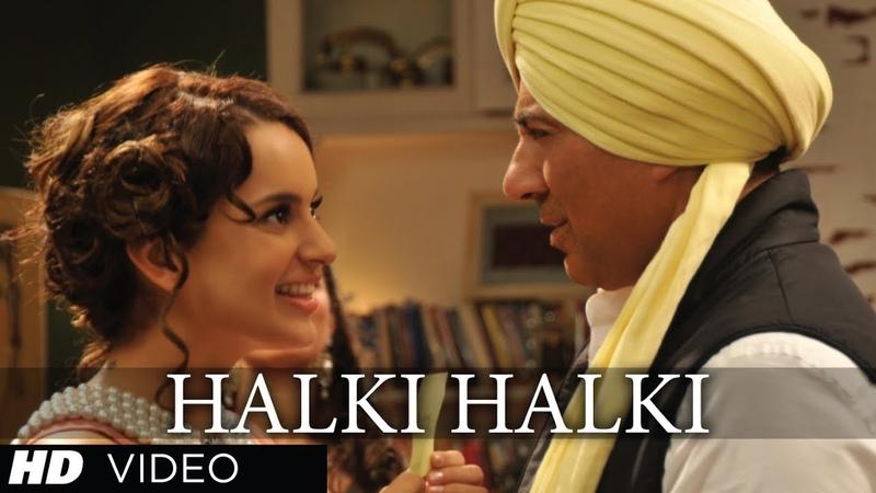 Halki Halki I Love New Year Video Song Ft Sunny Deol Kangana Ranaut Shaan Tulsi Kumar