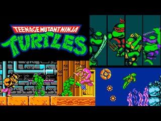 Teenage Mutant Ninja Turtles (NES)   Playthrough