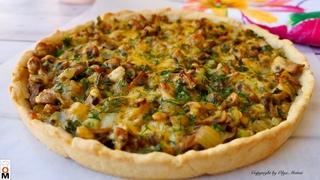 Лучше Любой Пиццы    Пирог с грибами
