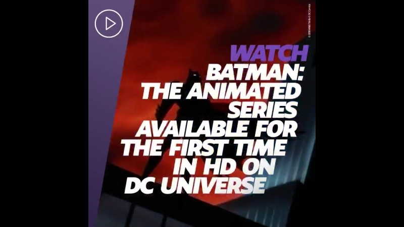 BATMAN THE ANIMATED SERIES DCUniverse.