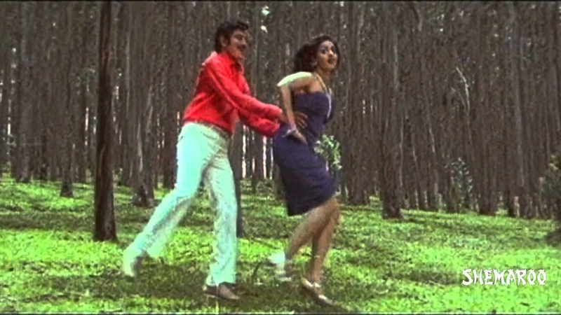 Kanchu Kagada Telugu Movie Songs Singari Sigge Andam Song Krishna Sridevi