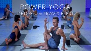 "60min. Power Yoga ""Detox"" Class with Travis Eliot - Level Up 108 Program"