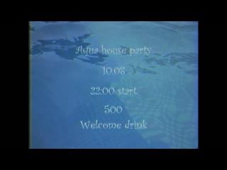 Aqua house party//салат 10.08 (promo)