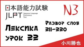 Лексика JLPT N3 : Счетные суффиксы, слова211‐220, части тела, тест   Японский язык Санкт-Петербург