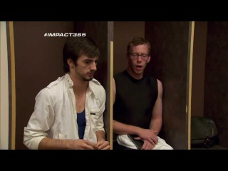 #IMPACT365 - Backstage with newcomers Norv Fernum and Dewey Barnes