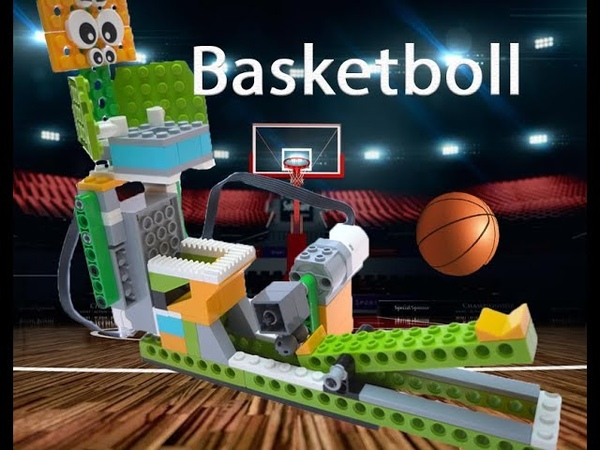 Basketball for LEGO WEDO 2 45300 at covid time