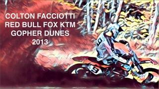 Colton Facciotti KTM 450 at Gopher Dunes
