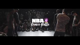 Evion & Diablo VS Bogdan & P-Dog - SEMIS - NBA Dance Battle 2018