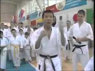Мики Яхара 1 (ката шотокан)