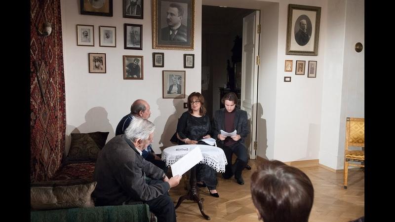 Мария Ермолова и Александр Остужев в спектакле Без вины виноватые А Н Островского
