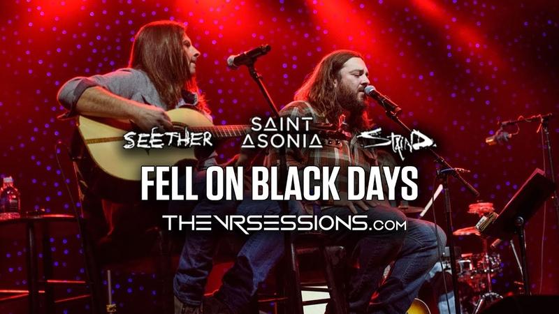 Fell On Black Days tribute to Chris Cornell Soundgarden by Shaun Morgan Adam Gontier in 360˚ VR