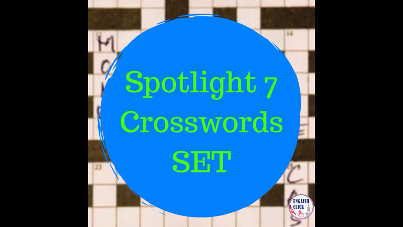 Spotlight 7 crosswords