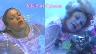 Micki's wetlook Ophelia shoot (1993)