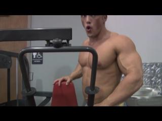 [720]  JOSH P PHOTO SHOOT (Pumping Muscle) (Wrestling)