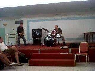 Dave Liebman plays the drums, feat. Rosario Giuliani (alto sax)