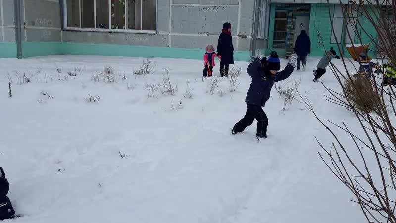 снежный ангел 6 группа