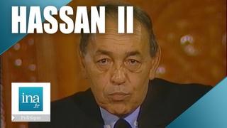 Hassan II du  Maroc invité de L'Heure de Vérité | Archive INA