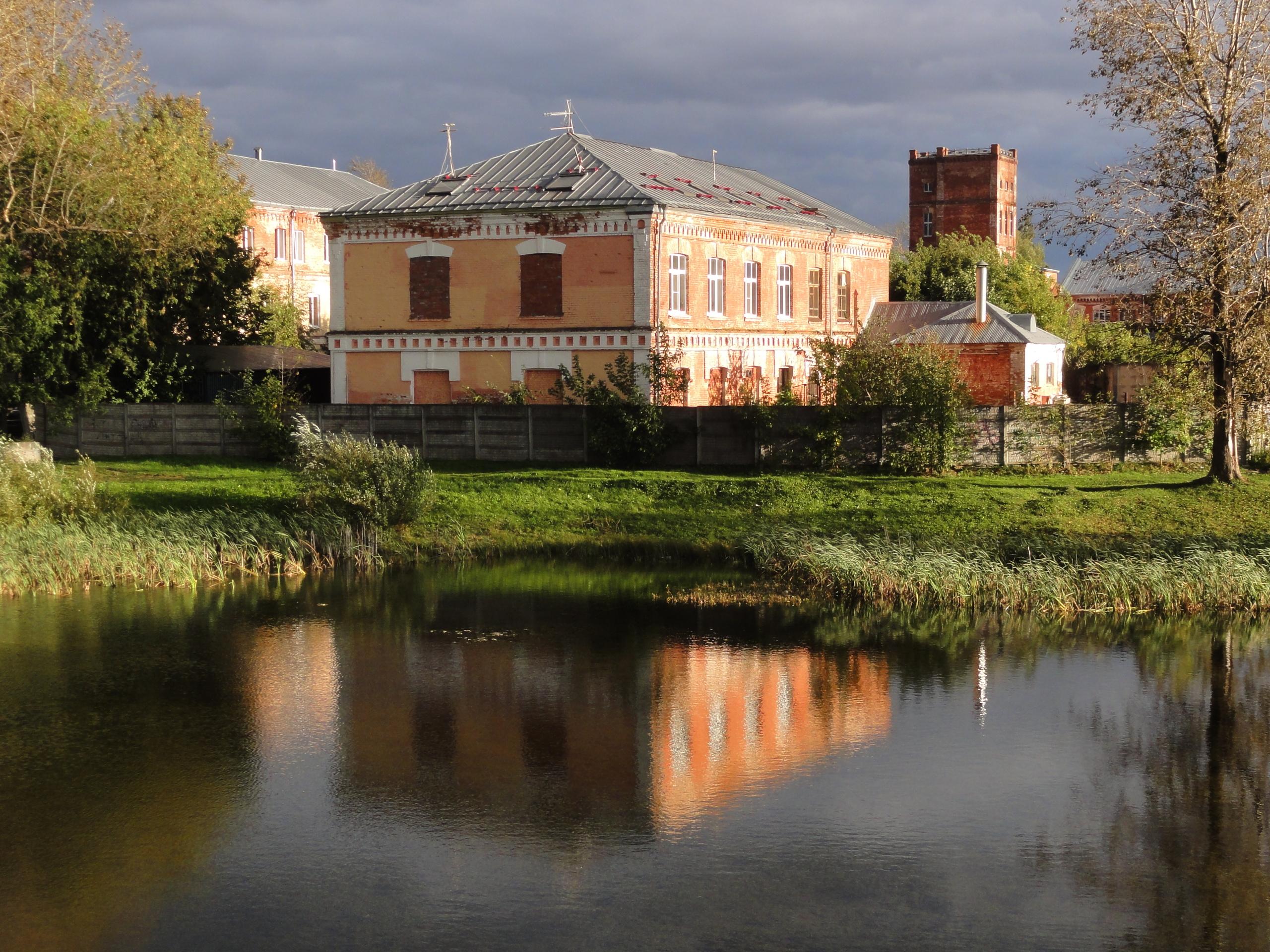 Ткацкая фабрика в Ново-Никольском
