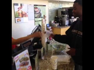 Niggasbelike may I have a cup for water @KingBach     Daily Vines, Best Funny Vine Video